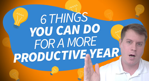 6 Things You Can Do For a More Productive Year