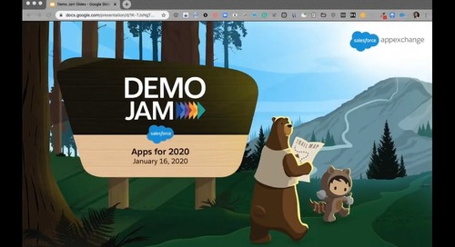 M-Files + Salesforce Demo Excerpt from the AppExchange January 2020 Demo Jam