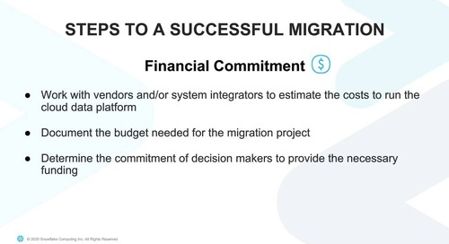 Webinar - Top 5 Considerations for Migrating from On Premises to the Cloud