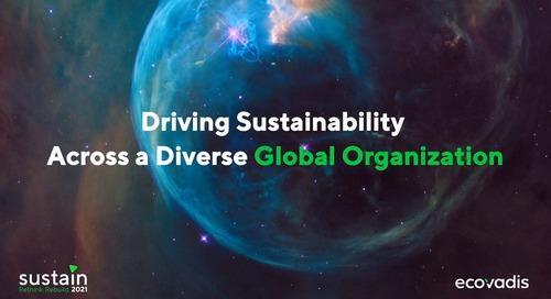 Promouvoir la durabilité dans une organisation mondiale des marchés complexe