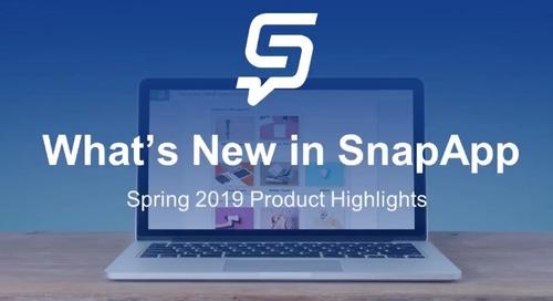 Customer Webinar: What's New in SnapApp?