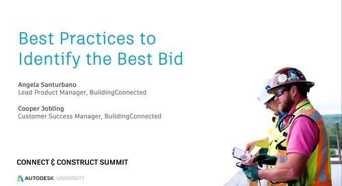 Best Practices to Identify the Best Bid