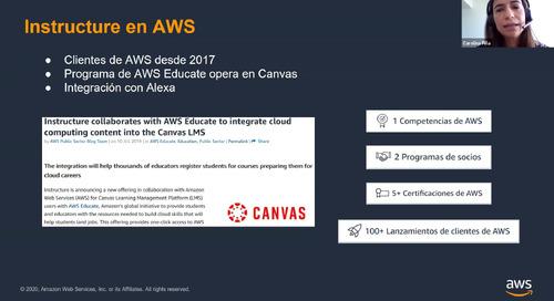 AWS + Canvas: 7 tendencias de la industria educativa