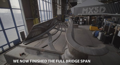 4SustainabilityinMFGIndustry-MX3D Printed Bridge Update