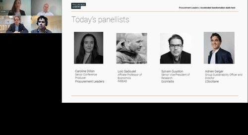 [PL webinar] Business as a Force for Good: The Role of Sustainability in the Covid New Normal