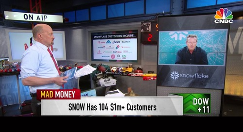 Snowflake CEO Frank Slootman on CNBC's Mad Money