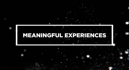 Meaningful Experiences