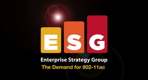 Extreme Networks – The Demand for 802-11ac
