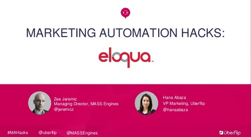 Marketing Automation Hacks: Eloqua