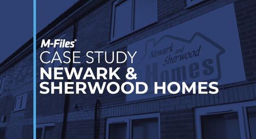 Customer Case Study Video: Newark & Sherwood Homes