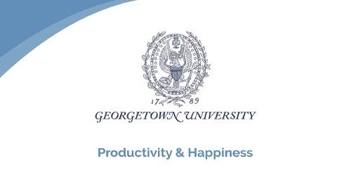 Linda Buckley: Productivity & Happiness