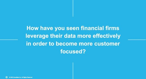 Webinar - Financial Services Industry Roundtable