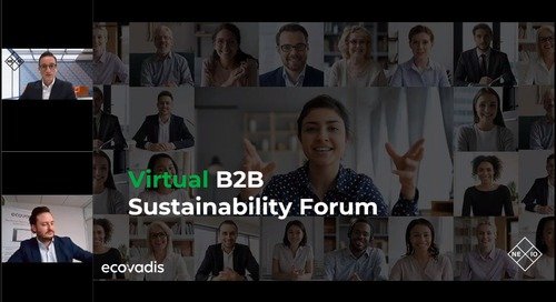 Procuring A Purposeful Business: Through Supply Chain Sustainability Performance