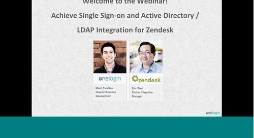 Single Sign-On & Active Directory / LDAP Integration for Zendesk