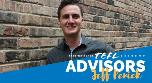 International TEFL Academy Advisor - Jeff Penick