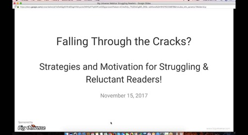 Falling Through the Cracks_ Strategies to Motivate Struggling & Reluctant Readers