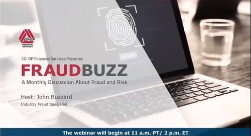 FraudBuzz Webinar - July 2019