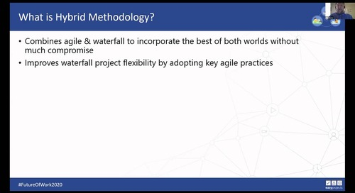 Agile / Waterfall Hybrid Methodology: How Can it Help your Organization? - Dr. Mike Ikona