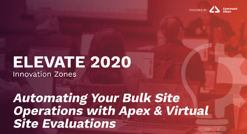 Automating Your Bulk Site Operations with Apex & Virtual Site Evaluations | ELEVATE 2020