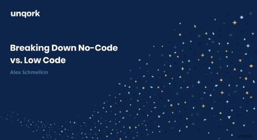 Webinar: No-Code vs. Low-Code
