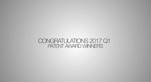 Patent Winner Video Q1 2017