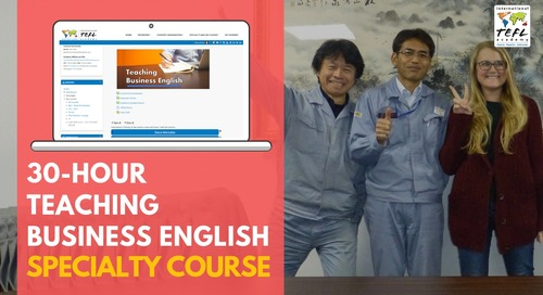 30-Hour Teaching Business English Specialty Course