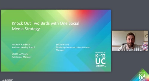 Knock Out Two Birds with One Social Media Strategy