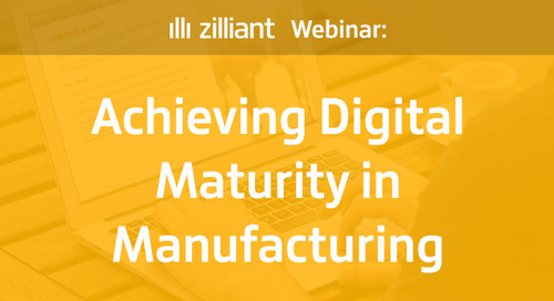 Achieving Digital Maturity in Manufacturing