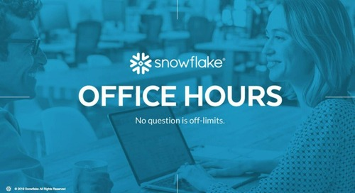 Snowflake Office Hours - Trustpower