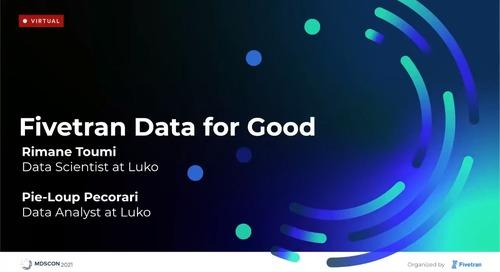 Fivetran Data for Good
