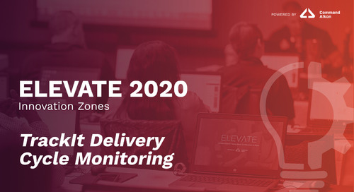 TrackIt Delivery Cycle Monitoring | ELEVATE 2020