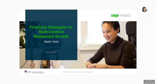 Financial Strategies for Multi-location Restaurant Growth