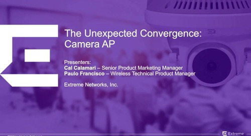 The Unexpected Convergence: Camera AP