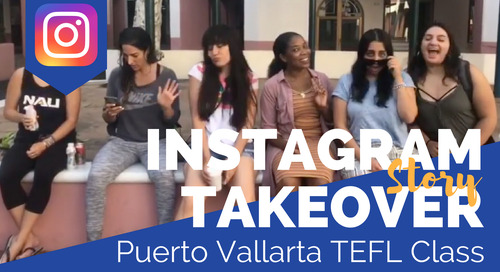 Day in the Life of our Puerto Vallarta, Mexico TEFL Class with Marisa DeCesare