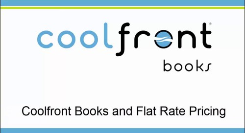 Coolfront Books and Flat Rate Pricing