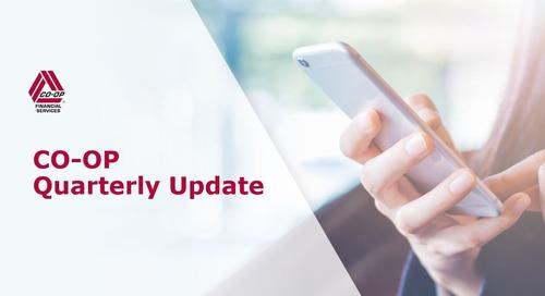 CO-OP Quarterly Update Webinar Recording - December 12, 2019