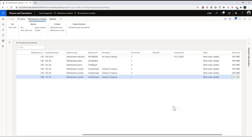 Enterprise Asset Management in Dynamics 365 Supply Chain Management - Part 2