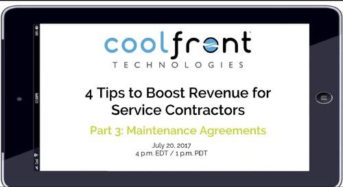 Boosting Revenue: Maintenance Agreements Webinar
