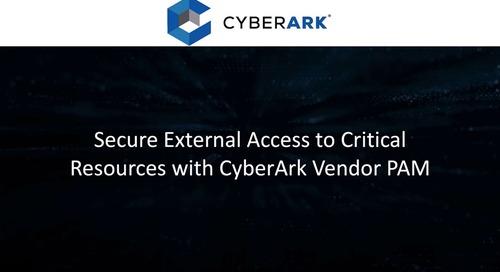 Vendor Privilege Access Management