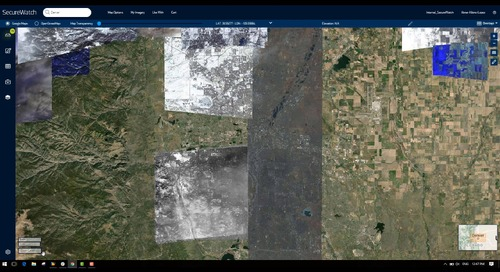 Search and filter imagery
