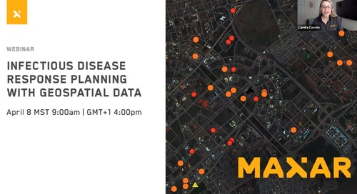Infectious Disease Planning with Geospatial Data