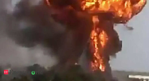 Explosion as fire breaks out at Iranian industrial complex - ETEnergyworld.com