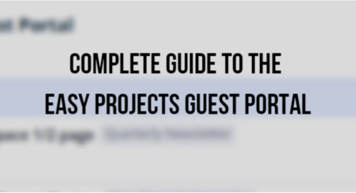 Complete Guide to the Easy Projects Guest Portal