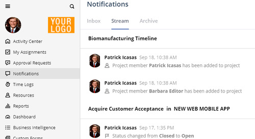 Introducing the Notification Center in Easy Projects