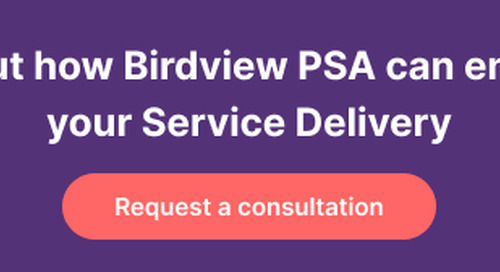 5 Reasons to Choose Birdview PSA as Your Go-to Solution in the Professional Services Industry