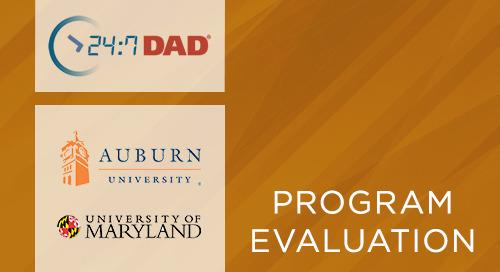 Final Evaluation Report- Considering Contextual Influences on Fatherhood Program Participants' Experiences in Alabama (24:7 Dad®, 2019)