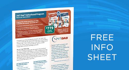 24:7 Dad® Program Info Sheet