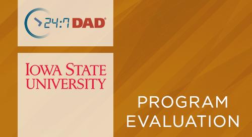 24:7 Dad® Iowa State University Prisoner Reentry Outcome Evaluation (2012)