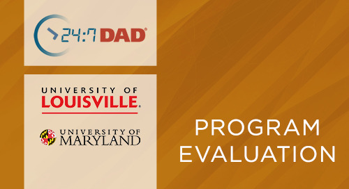 24:7 Dad® in a Multi-site Parent Education Intervention for Non-resident Fathers- Preliminary Project Evaluation (2019)