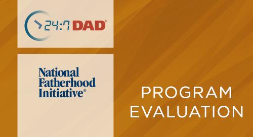 24:7 Dad®- Dads Matter - Performance Measures (2009-2010)